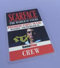 Scarface The World Is Yours Video Game Premiere Party CREW Pass 2006