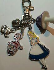 Alice in Wonderland key ring bagcharm