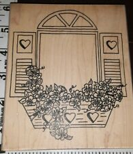 Flower box window,huge,Angel's attic,c15,rubber , wood