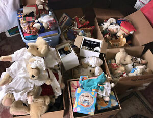 Wonderful Muffy Vanderbear Collection HUGE LOT Bears Accessories Over 100 Items!