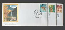 China Prc 1980 Sika Deer Fleetwood Set 3 Fdc Ua