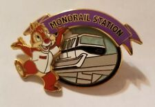 Disney Pin World WDW 40th Anniversary Attraction Dale Monorail LE 500