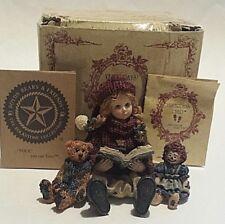 Boyds~Yesterday'S Child~Megan With Elliot & Annie Figurine