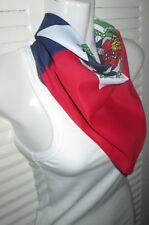 Haiti Flag DAY Bandana Head Wrap Creole Haitian Caribbean Pride Port au Prince