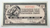 1985 Canadian Tire Money 10 Ten Cents CTC-9-B1 Circulated Mor Power Gas E161