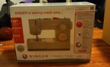 BRAND NEW SINGER Heavy Duty 4452 Sewing Machine & Accessory Kit IN HAND