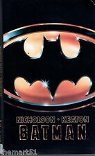 Batman  (1990) VHS  Warner  ed.  WIV 12000 -