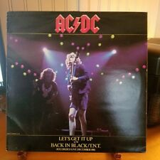 "ACDC-RARE LIVE 12""-ATLANTIC RECORDS-K 11706-c1981-BACK IN BLACK,LIVE AND AWESOME"
