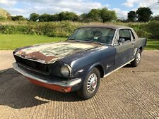 1966 Ford Mustang 'A' Code 289 V8 Project