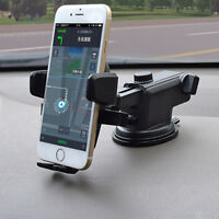 360° Rotatable Car Phone Holder Stand Windscreen Suction Cup Window Mount Mobile