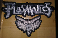 PLASMATICS and WOW Wendy O Williams LOGO both patchs NEW FREE SHIPPING