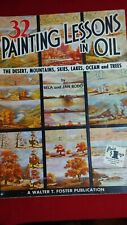 Vintage Walter Foster 23 Painting Lessons in Oil Prntd in USA Book # 113 by Bodo