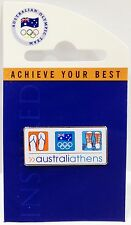 AUSTRALIA ATHENS SUMMER OLYMPICS 2004 PIN BADGE COLLECT #637