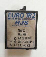 Relais Kaltstartregelsystem Euro2-Umrüstung Opel Astra F Kadett E 1.6 C16NZ A1