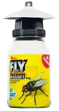 (2 Pack) Victor Reusable Fly Magnet Quart Trap With Bait - M380