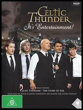 CELTIC THUNDER - IT'S ENTERTAINMENT Region 4 PAL DVD ~ IRISH *NEW*