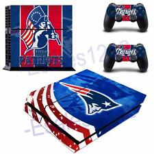 NFL New England Patriots Vinyl Skin Decals Stickers PS4 PlayStation 2 Controller