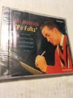 "NEW/SEALED MUSIC CD - BILL ANDERSON - ""PO FOLKS"""