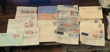 Early 1940s South American to US Lot of 20 Covers Arg/Venez/Chile/Columb/Brasil