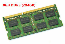 Memory 8GB RAM Kit (2x4GB) 10600S LAPTOP DDR3 1333MHz