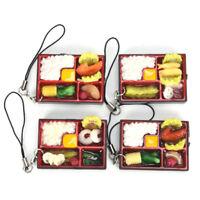 Cute Simulation Sushi Key Chain Keyring Fake Japanese Food Box Keychain S Jf