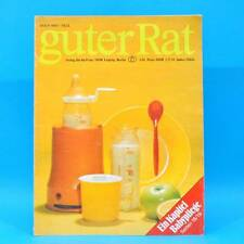 Guter Rat 1-1981 Verlag für die Frau DDR Steratrans 2310 Schaukel Schaukelbett E
