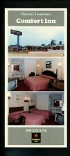 Oversized postcard Louisiana LA Ruston Comfort Inn