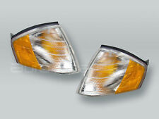 TYC Clear/Amber Corner Lights Parking Lamps PAIR fits 1990-2002 MB SL-Class R129