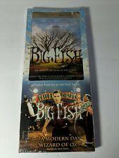 Big Fish Dvd 2004 New Ewan Mcgregor Jessica Lange Tim Burton long case cosco