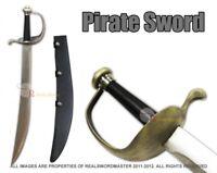 Jack Sparrow Pirates of the Caribbean Cutlass Short Sword Skull & Crossbones New