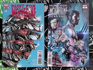 Hunt For Wolverine #1 + Dead Ends #1 Marvel Comics 2018 X-Men Iron Man Daredevil