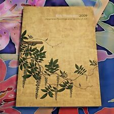 ERIK THOMPSON GALLERY 2009 JAPANESE PAINTINGS AND WORKS OF ART BOOK