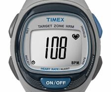 PRE-OWNED $84.95 Timex Personal Trainer Heart Rate Monitor Women's Watch 5K738