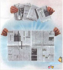 Torn& Restored Newspaper Gimmick - Stage Magic,Party Magic Props,Accessories