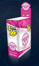 Full Box 15x Packs ( Twisted Hemp Wrap California Dream ) 4 Wraps Per Pack