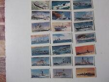 Lyons Tea Trading Cards HMS 1902-1962  x21