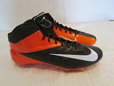 Nike Men Vapor Pro 3/4 Mid Browns Football Cleats Sz 15 Orange Brown 544761 208