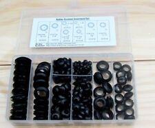 200pcs Rubber Grommet Assortment Set Harness Electrical Wire Gasket #M1453 QL