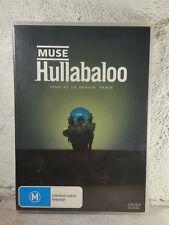 Muse (BAND) LIVE CONCERT ( DVD : 2 DISC) Hullabaloo Live At Le Zenith Paris RARE