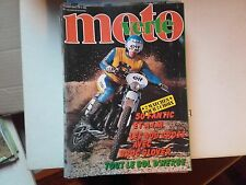 moto verte n65 sep79 50fantic et aim 400cross le bol d'herbe