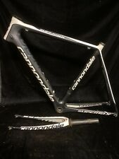 Black White Chris Hill Cannondale Supersix Frame Forks 58MM