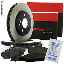 METZGER Bremsscheiben 257mm + Bremsbeläge vorne FIAT GRANDE PUNTO 199 OPEL CORSA