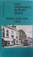 Old Ordnance Survey Map Ashton under Lyne Lancashire 1933 Sheet 105.06 New