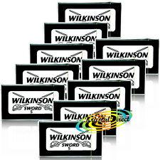 50 Wilkinson Sword Double Edge Cut Throat Razor Blades