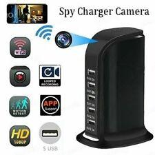 Cargador de 5 Socket Wifi Video Grabadora Cámara Oculta Spy1 * 1080P Cámara Usb DVR Niñera