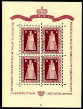 Liechtenstein 1941 197kb ** cachet impeccable 500 € (z2442