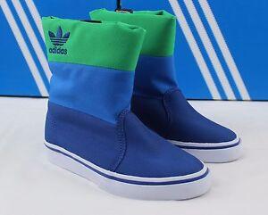 adidas Originals Kids Unisex Winter Vulc K Primaloft Boot G95304 Blue/green