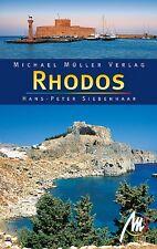RHODOS Michael Müller Reiseführer 10 D2 Griechenland Insel Sými Chálki Handbuch