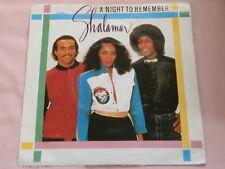 "VINYL 7"" SINGLE - A NIGHT TO REMEMBER - SHALAMAR - K13162"