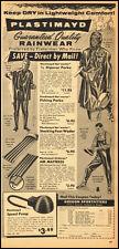 195n vintage ad, PLASTIMAYD RAINWEAR, Oregon Sportfitters -032813
